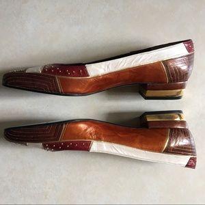 Margaret Jerrold Low Block Heel Pumps